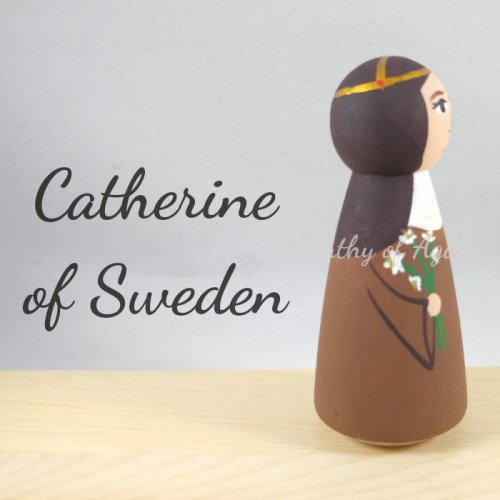 Catherine of Sweden lily side