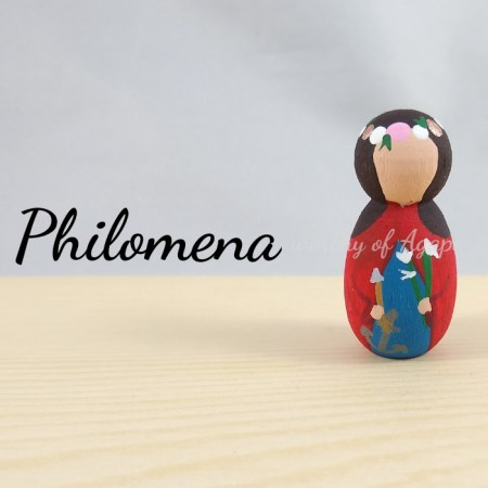 Philomena keychain ornament main