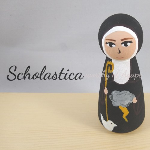 Scholastica newest top