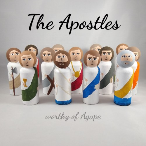 The Apostles staggered front