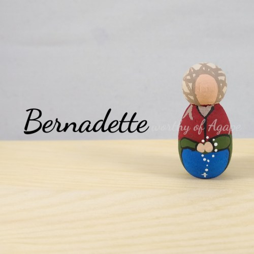 Bernadette keychain ornament main