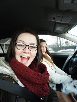Sis Richardson and I