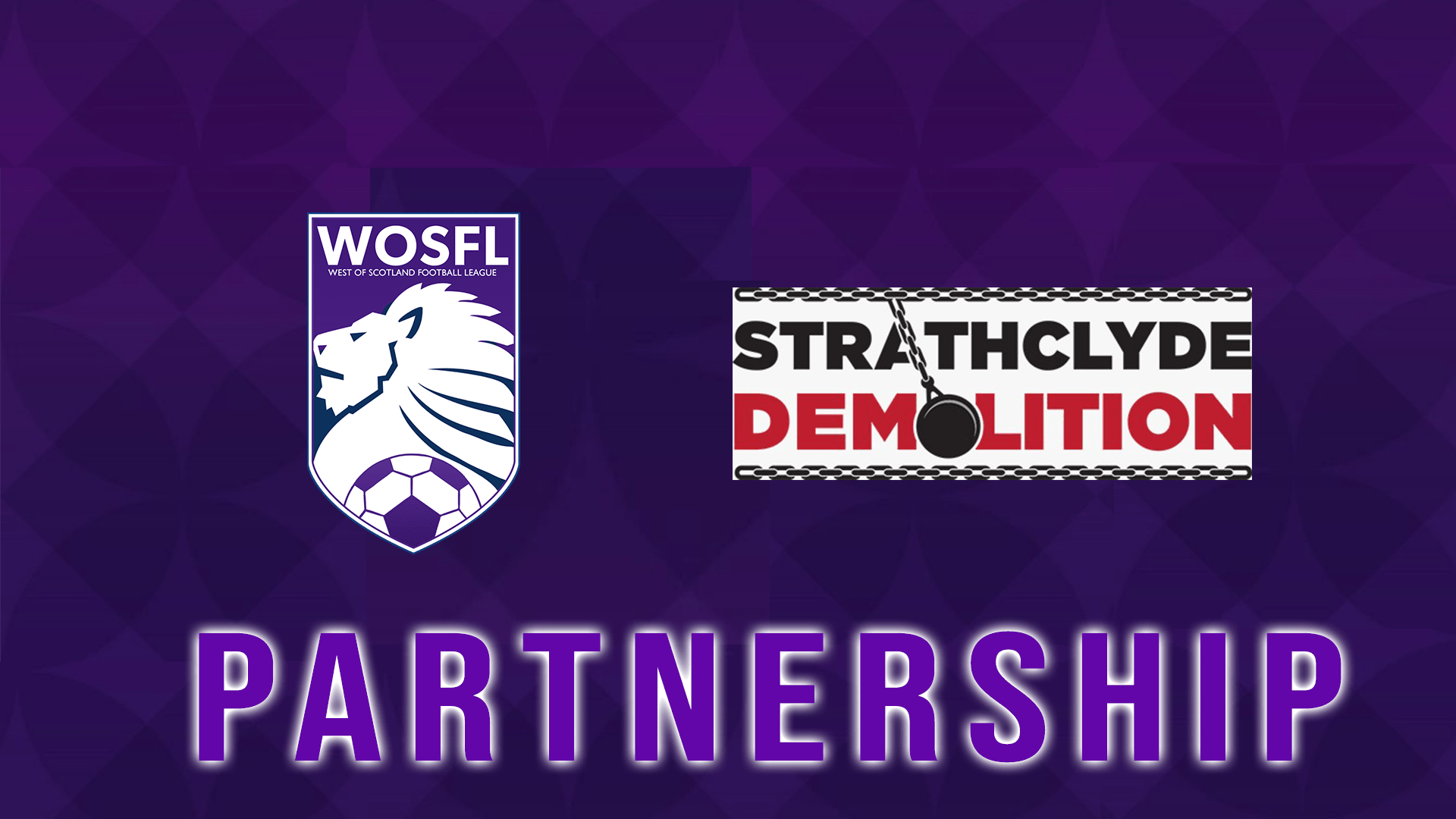 WoSFL announce Strathclyde Demolition as new Strathclyde Cup Partners