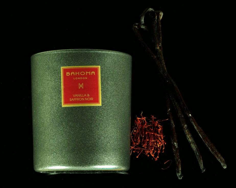 Bahoma Vanilla & Saffron Noir