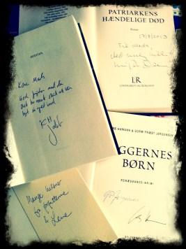 Bare fordi man selv er begyndt at signere bøger, kan man jo godt samle lidt ind selv også;)