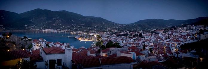 Skopelos at dusk