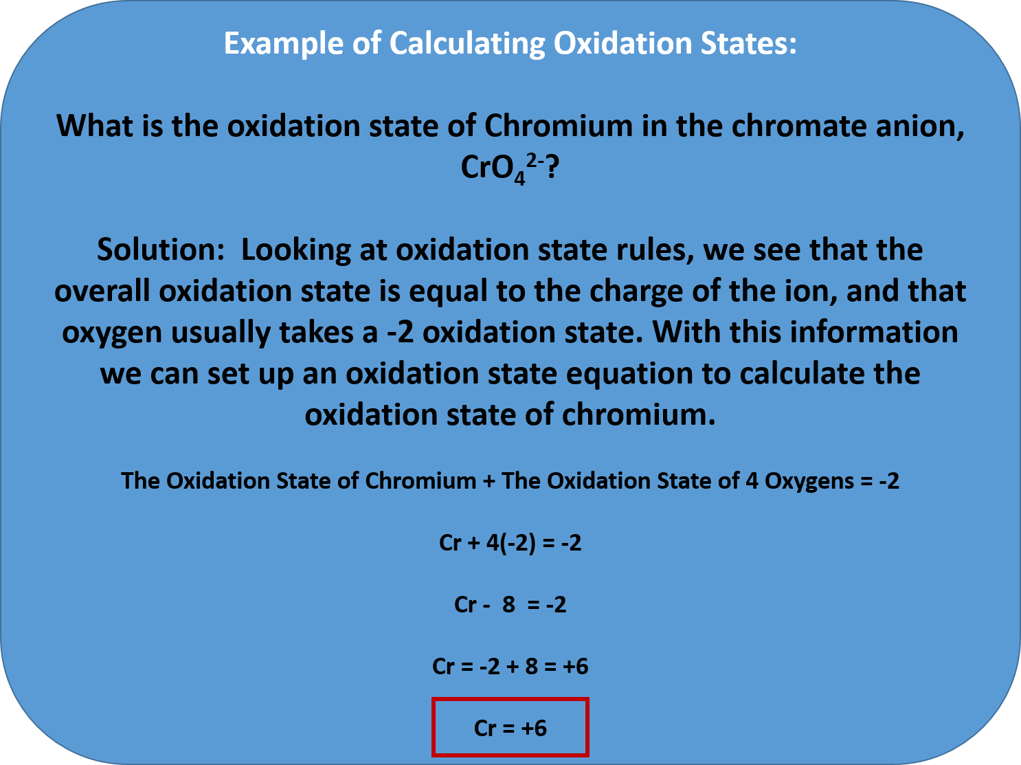 How To Find Oxidation Number Of Carbon In A Compound