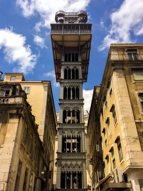 Santa Justa Elevador, Lisbon