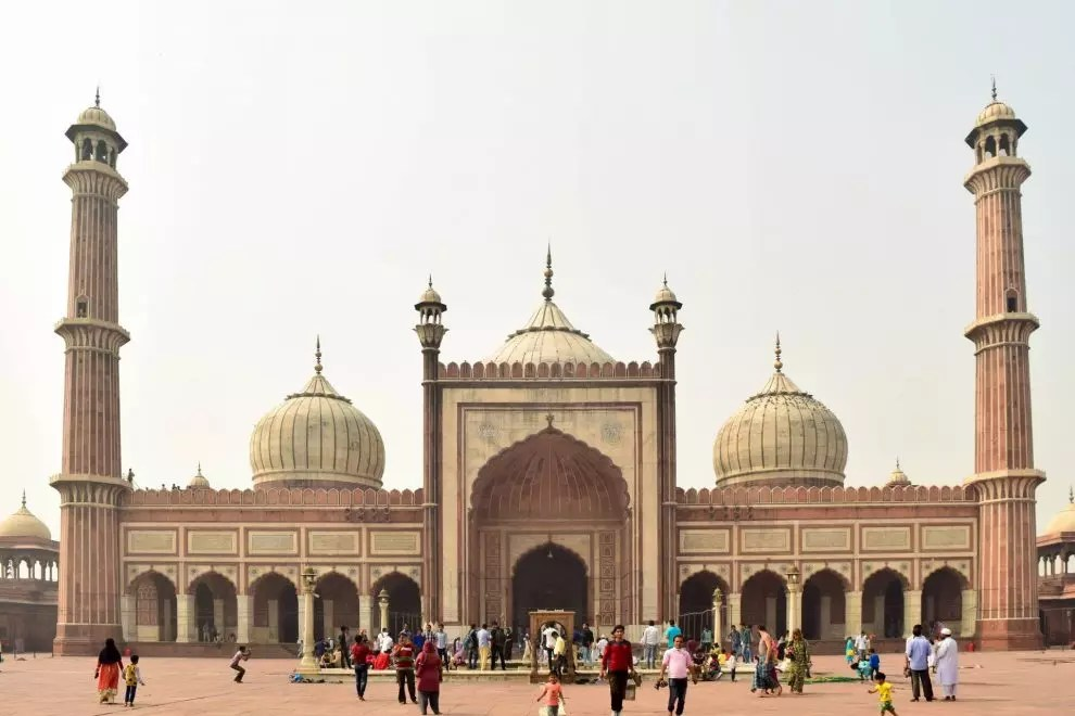 Jama Masjid, New Delhi in India's Golden Triangle