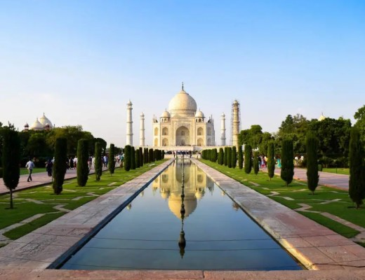 India's Golden Triangle, the Taj Mahal