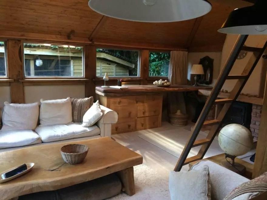 Weekend in a log cabin, Berkhamsted