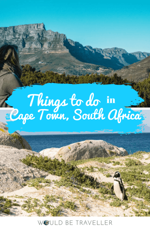 Would Be Traveller Things to do in South Africa