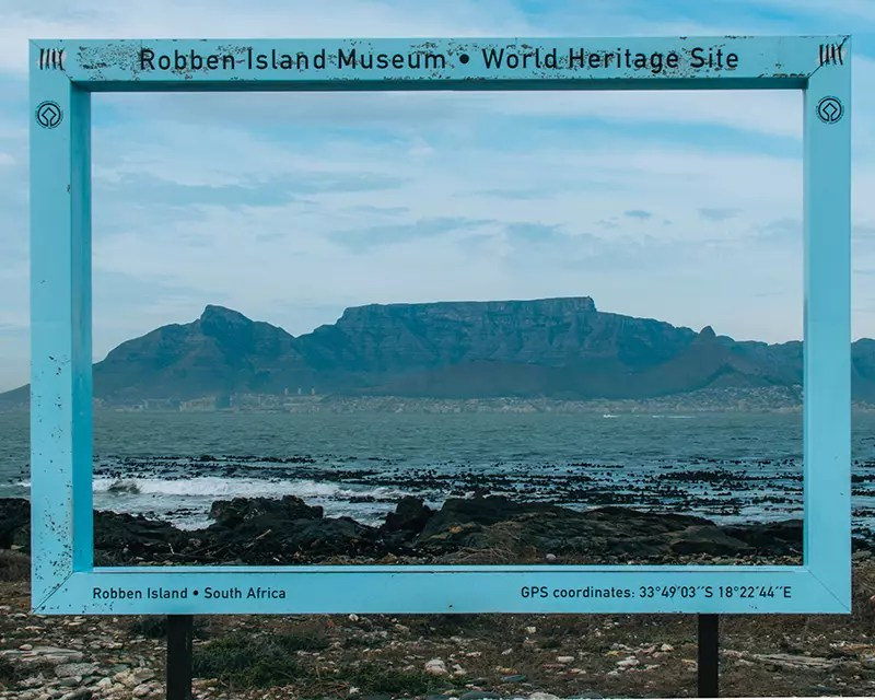 Would Be Traveller South Africa Holiday Destinations Table Mountain from Robben Island
