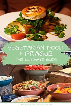 Would Be Traveller Vegetarian food in Prague