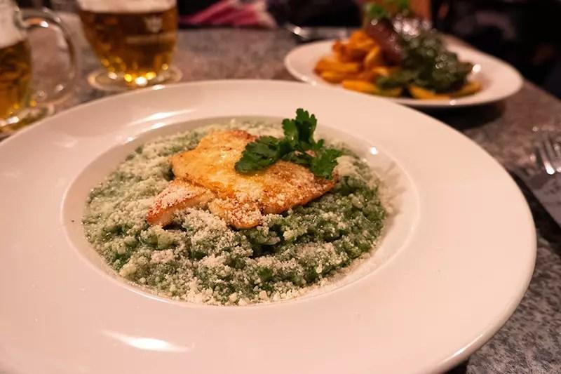 Would Be Traveller Vegetarian food in Prague Kavarna Velryba