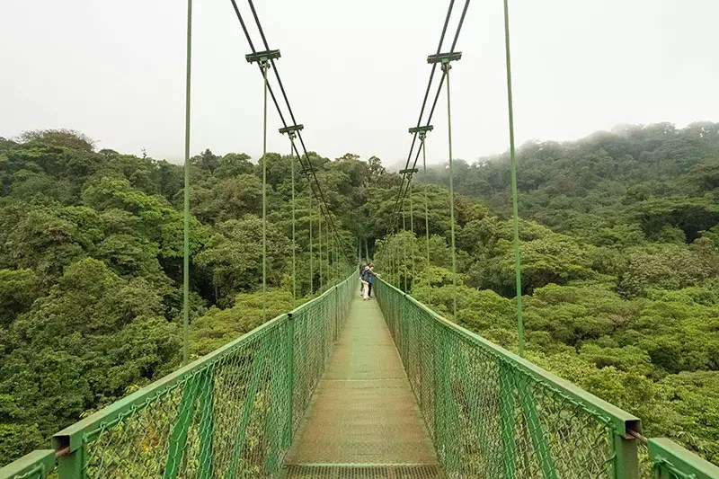 Would Be Traveller 10 days in Costa Rica itinerary Selvatura Park