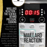 Maillard Reaction image with black sidebar