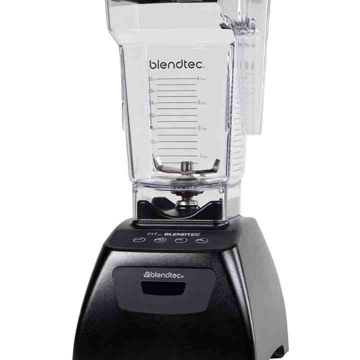 blendtec blender against a white background
