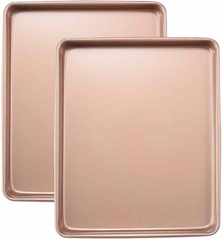 joho nonstick gold baking sheet
