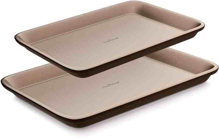nutrichef nonstick metal baking pan