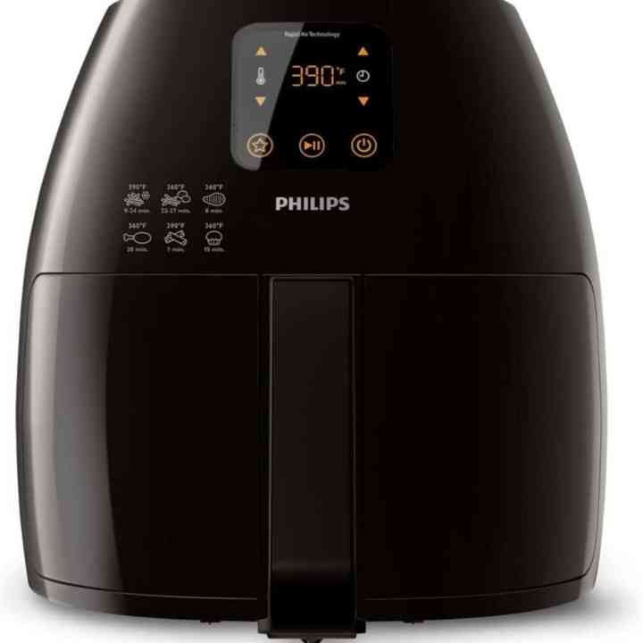 image of the Philips starfish technology xl air fryer against a white background