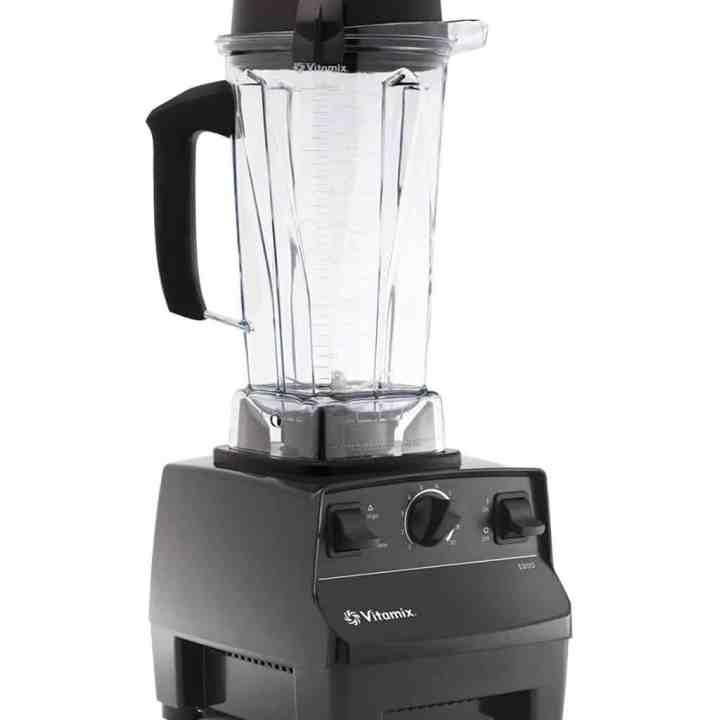 Vitamix 5200 blender against a white background