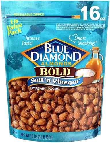 blue diamond salt n vinegar almonds