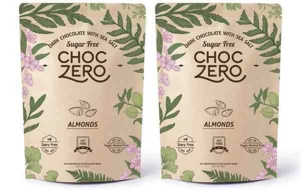 choczero dark chocolate keto bark