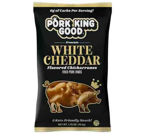 pork king good white cheddar pork rinds