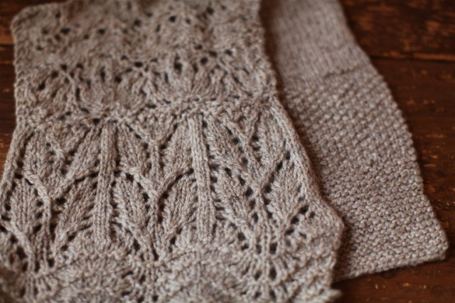 Shetland Clara Yarn, finding its way to becoming lace