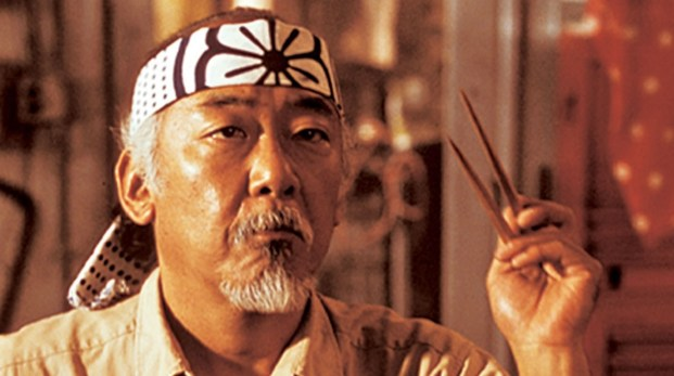 Image of Mr Miyagi symbolising how to be a brand development black belt.