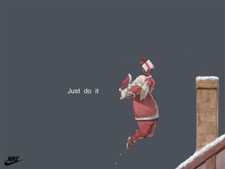 Nike Santa advert