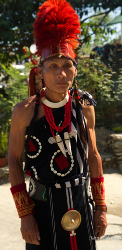 NAGA WARRIOR TRIBAL, NAGALAND, INDIA