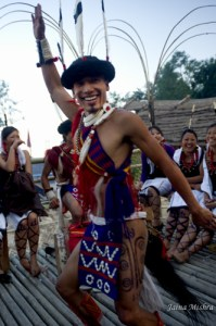 Naga Warrior Tribal Culture, Nagaland, India