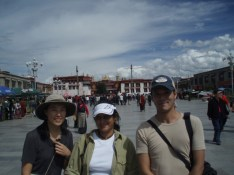 Me at the Jokhang, Lhasa, Tibet