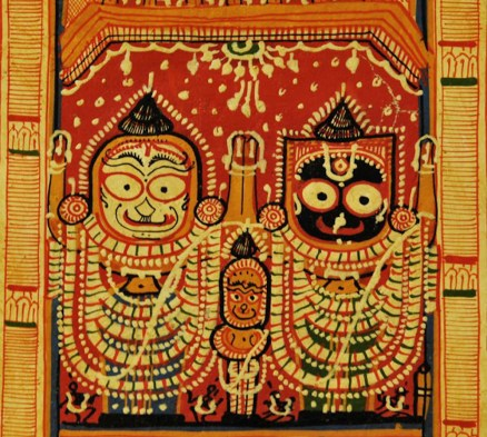 ANTIQUE JAGANNATH PURI PAINTING