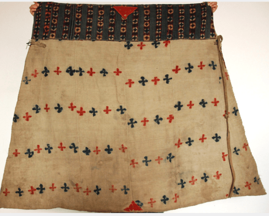 ANTIQUE TIBET HORSE BLANKET