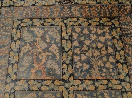 Fine Persian Silk Qum Rug Carpet-21