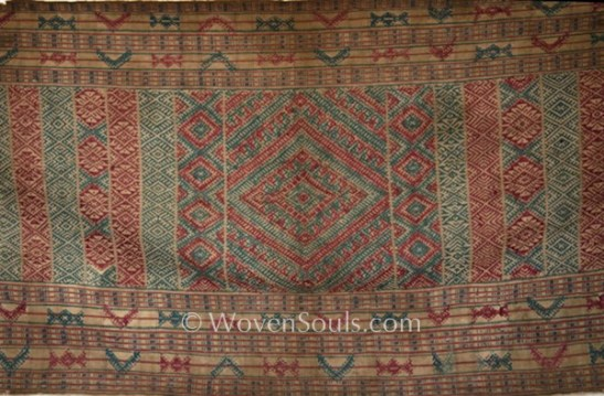 ANTIQUE BHUTAN KERA TEXTILE