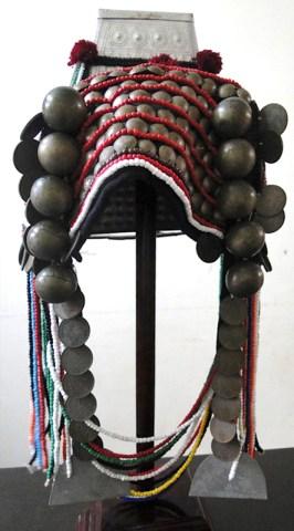 Vintage Akha headdress