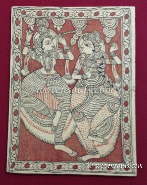 Wovensouls - Technique of Kalamkari art - Dye