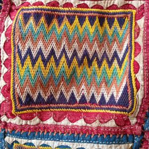 ANTIQUE BANJARA GYPSY TRIBAL GHODIYU CRADLE CLOTH