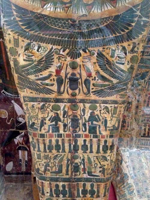 Motivos de arte del antiguo Egipto