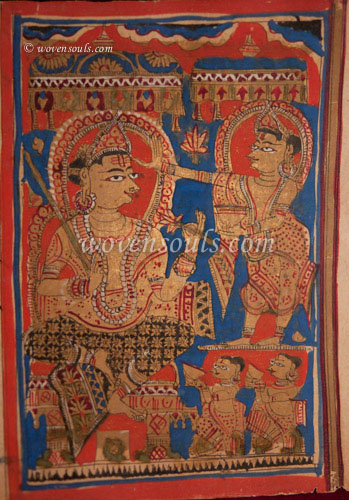Ancient Jain Manuscript - Kalpasutra