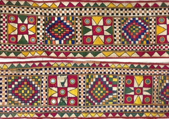 STUNNING PAIR OF VINTAGE DOOR PANELS FROM GUJARAT