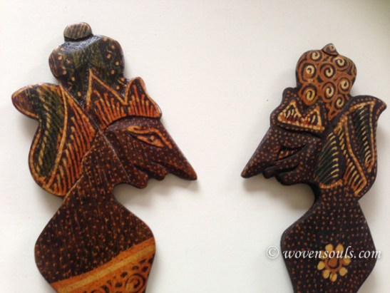 Wood Batik Art, Java, Indonesia