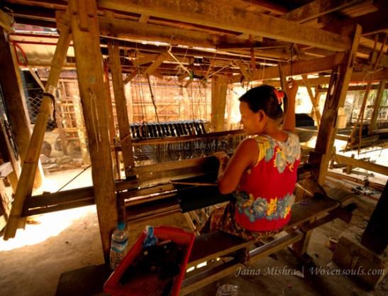 Handlooms of Myanmar