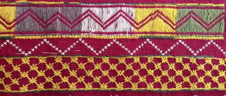 OLD BISHNOI WEDDING SHAWL FROM SHEKHAWAT RAJASTHAN