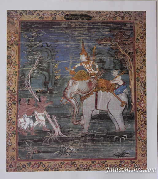 ANTIQUE THAI PAINTINGS