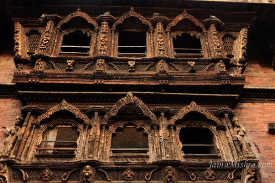 Heritage Architecture of Nepal : Carved Wood windows